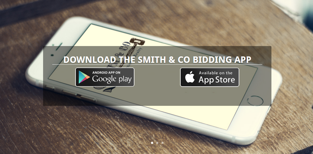 """As the common saying goes, """"there's an app for that"""" and yes indeed we have an app for auctioning."""