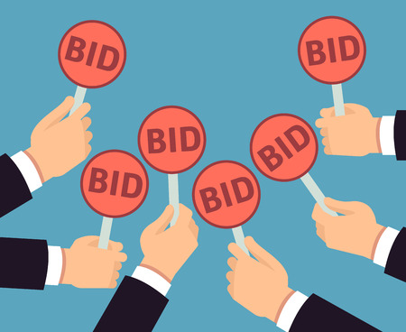 How to score a bargain at a live auction for How to bid at a live auction