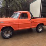 Orange Pickup Truck Available at Auction