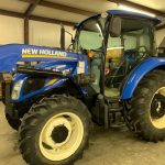 Blue Farming Tractor Available at Auction